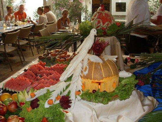 Ostria Resort & Spa : Lors de la soirée barbecue