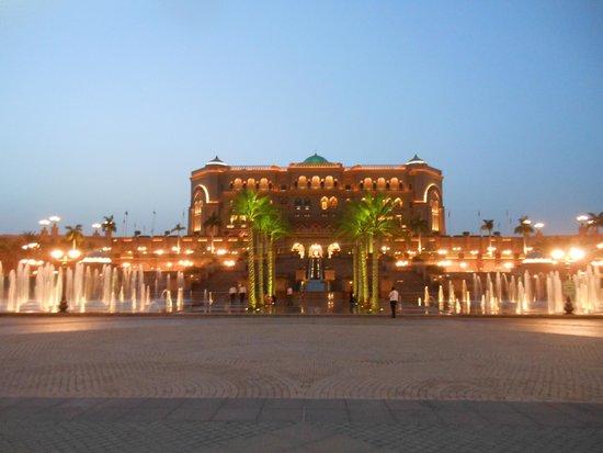 Emirates Palace : night view