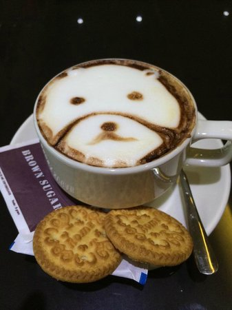 Bemo Corner Coffee Shop: Humour comes in all forms