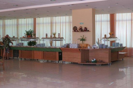 Edelweiss Hotel: ресторан - столовая