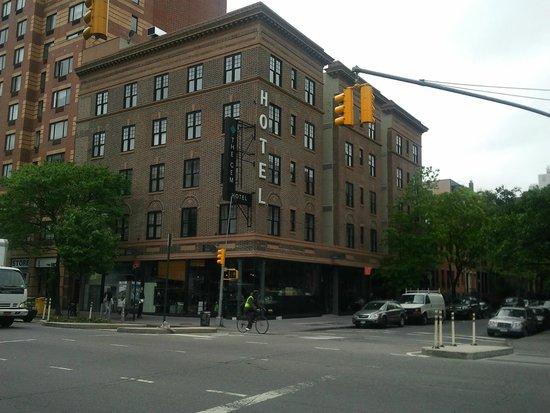 The GEM Hotel Chelsea: Arrivée à l'hôtel