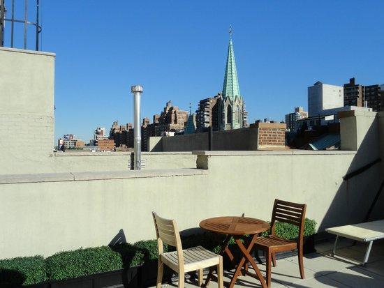 The GEM Hotel Chelsea: Autre vue terrasse