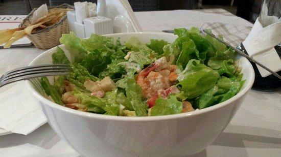 Prego Italian Restaurant: Caesar salad prawns