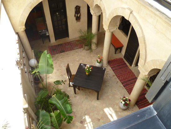 Dar Assalama: le patio du riad