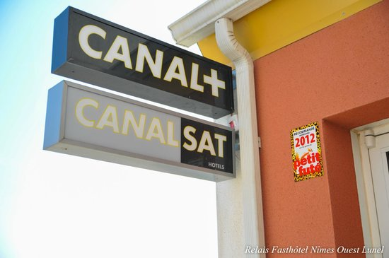 Fasthotel Nimes Ouest Lunel: entrée