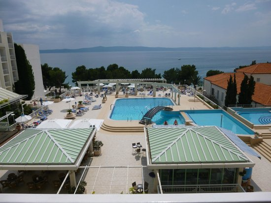 Bluesun Hotel Alga: View from our room 349
