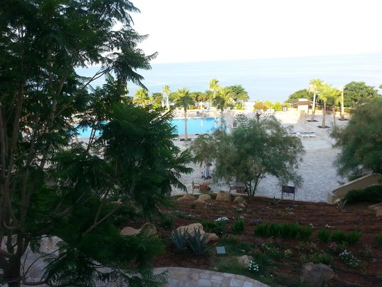 Holiday Inn Resort Dead Sea: The view from a sea view room