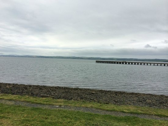 Wonderful view of Loch Ryan from the front of The Merchants House!