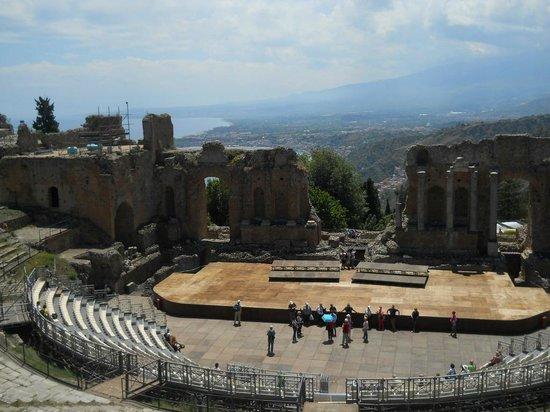Ancient Theatre of Taormina: Il Teatro
