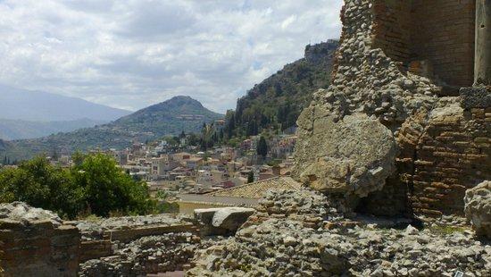 Greek Theatre : Il Teatro e il panorama
