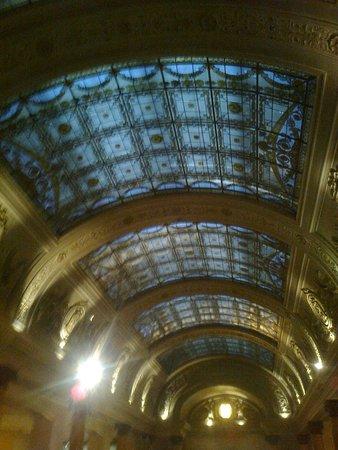 Belga Queen: arcade glass  ceiling