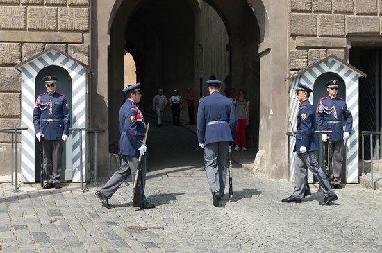 Château de Prague : Смена караула