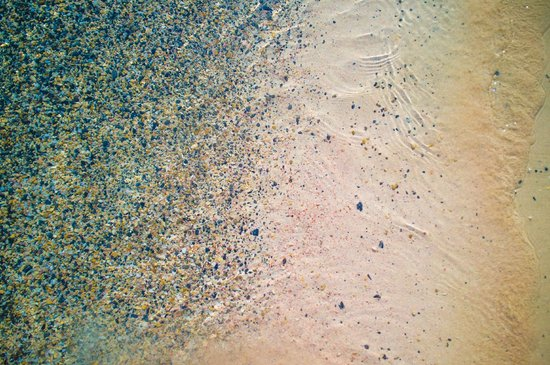 Plage d'Elafonissi : pink sand