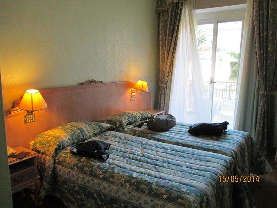 Grand Hotel Bristol: room
