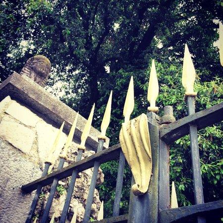 i Giardini di Villa Melzi: gate