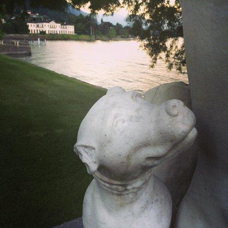 i Giardini di Villa Melzi: statua Guglielmo Della Porta