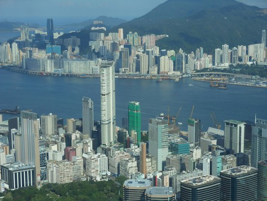 Sky100 Hong Kong Observation Deck: two