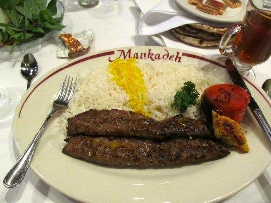 Maykadeh : Lamb/beef shish