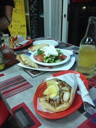 Ovelix Dina's Kitchen : En super gyros på kvällen
