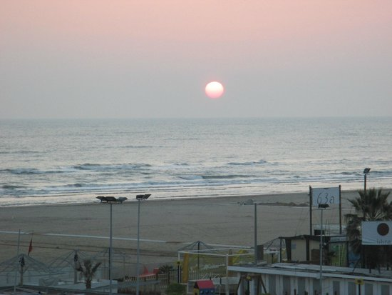 Le Rose Suite Hotel: Sonnenaufgang