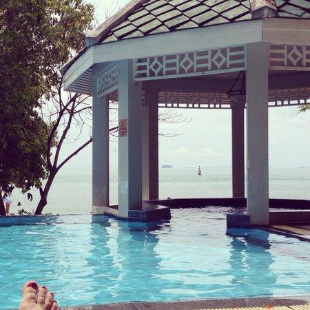 Cape Panwa Hotel : View from pool near Cape Panwa House