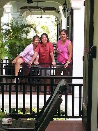 Sonalong Boutique Village & Resort: Our terrace
