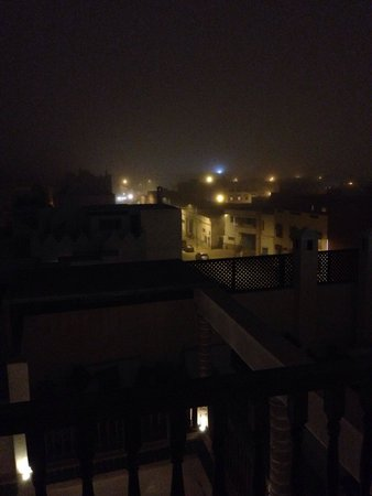 Riad Chbanate: Nightly fog rolls in off the ocean