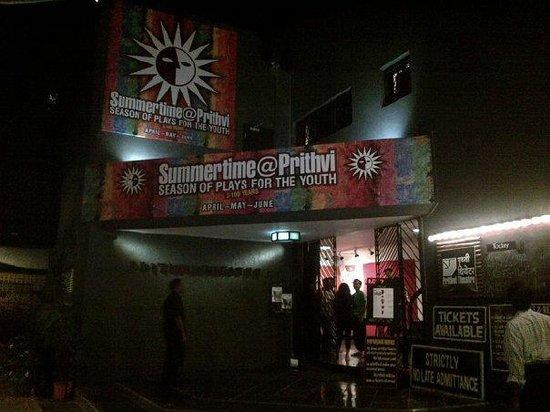 Prithvi Theatre: bright enterance