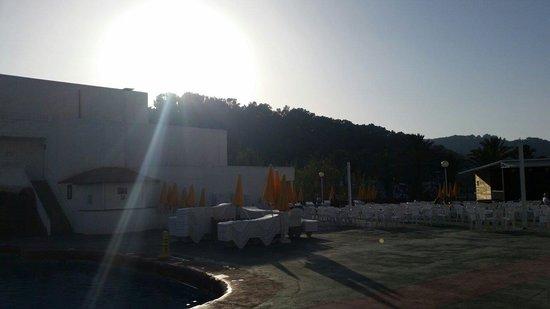San Miguel Beach Club: Sunset