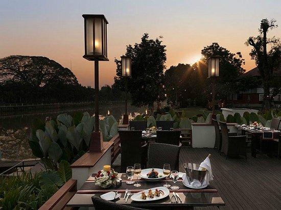 Ratilanna Riverside Spa Resort Chiang Mai: Mira Terrace