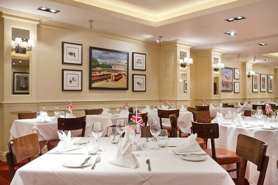 The Union Jack Club: Restaurant