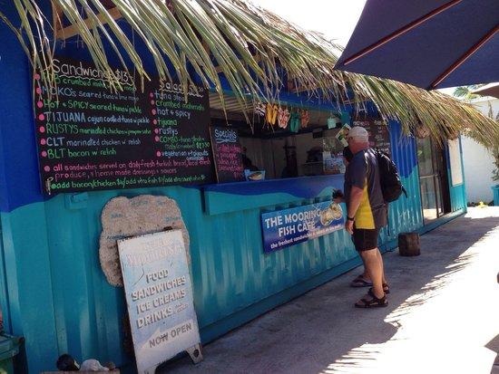 The Mooring Fish Cafe, Rarotonga