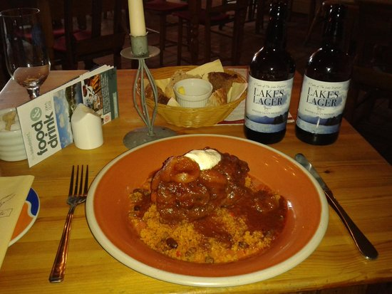 Lucy's on a plate: Tunisian Tagine of Lamb