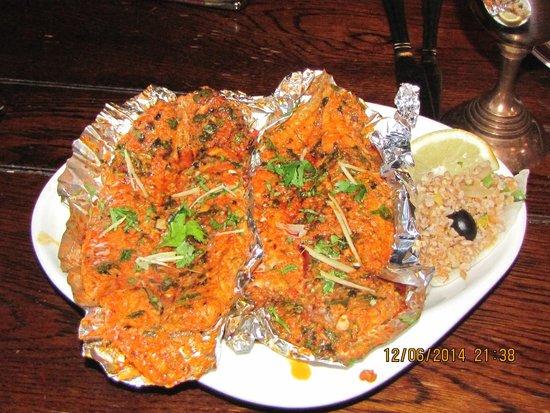 Green Gates Indian Restaurant: Spiced Haddock