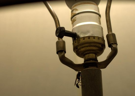Cove Haven Resort : wasp on lamp