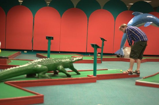 Cove Haven Resort: Minigolf! or Put-Putttt!