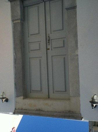 Old Oia Houses: door to our Venetian house CV II