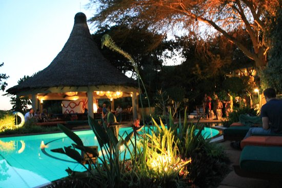 Lake Manyara Serena Lodge: Bar and Pool area
