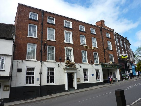 The Lion Hotel Shrewsbury by Compass Hospitality: Street view of the Lion Hotel