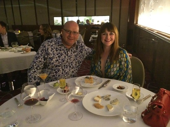 Mandarin Oriental, Las Vegas: dinner at Twist