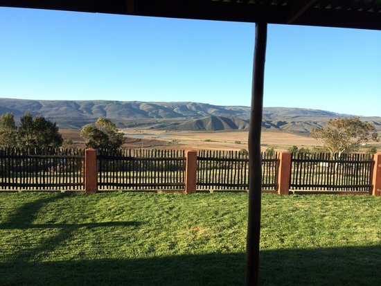 Langdam-in-Koo Guest Farm : The view from Apple cottage