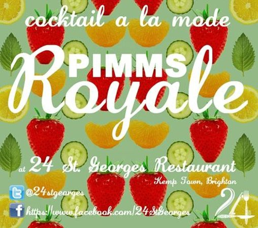 24 St Georges: Pimms Royal!