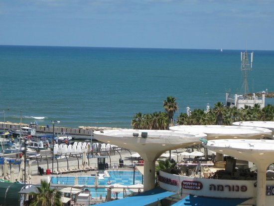 Herods Tel Aviv : View from our balcony