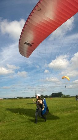 Airways Airsports: Jess ready to fly