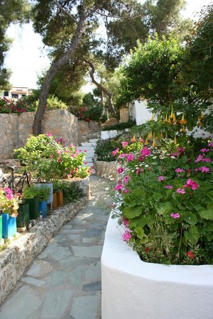 Rosy's Little Village: The steps down to heaven