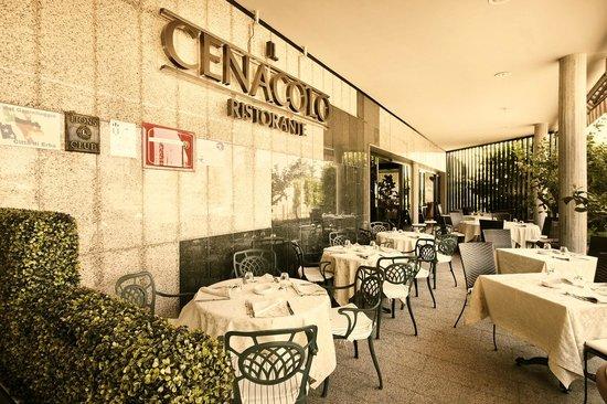 Leonardo da Vinci Hotel Erba: ristorante all'aperto