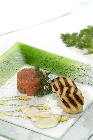 Leonardo da Vinci Hotel Erba: salmone marinato