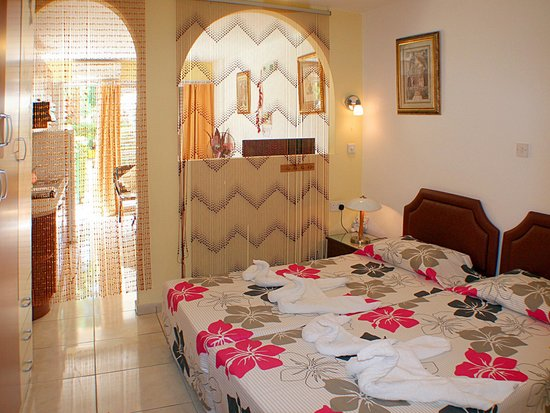 Apollonia Holiday Apartments: Studio apartment 3  ground floor with terrace rear