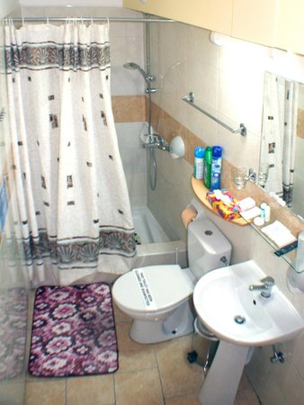 Apollonia Holiday Apartments: Studio apartment 3 shower room
