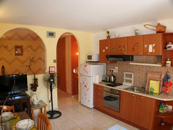 Apollonia Holiday Apartments: Studio apartment 4 ground floor terrace rear
